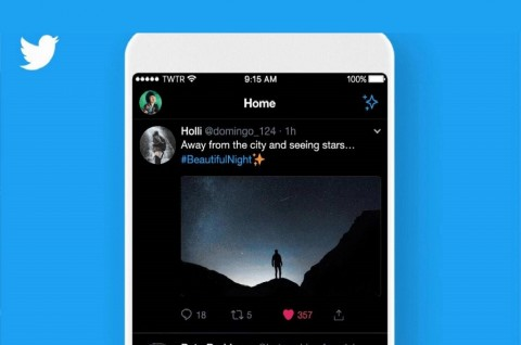 Aplikasi Twitter Android Terima Update Mode Gelap Spesial