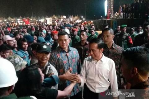 Usai Pelantikan, Jokowi Sempat Nonton God Bless di Festival Musik untuk Republik