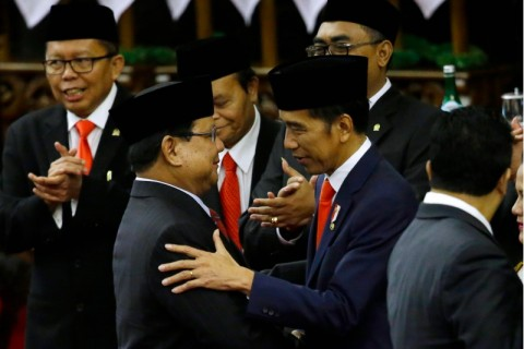 Gerindra More Certain to Enter Jokowi's Cabinet