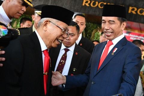 Momen-momen Menarik Pelantikan Jokowi-Ma'ruf
