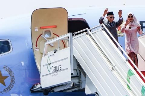 Ma'ruf Amin Terbang ke Jepang Hadiri Penobatan Kaisar Naruhito