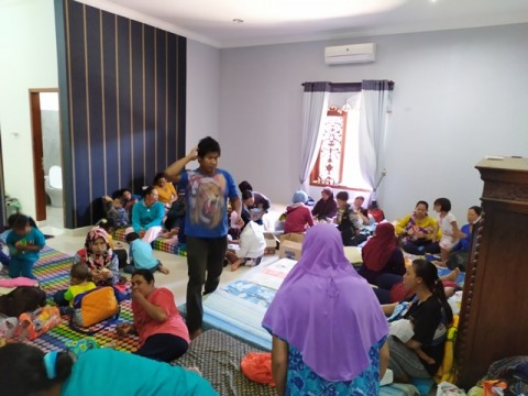 1.216 Warga Batu Mengungsi dari Bencana Angin Kencang