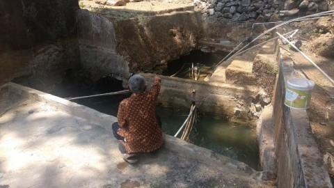 Ada Sumber Air di Gunungkidul yang Tak Kering Meski Kemarau