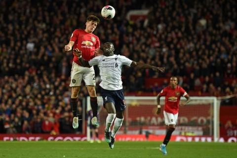 Rapor Pemain Manchester United vs Liverpool