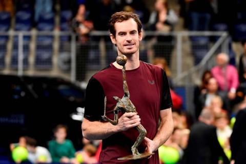 Andy Murray Raih Gelar ATP Pertama setelah Operasi Pinggul