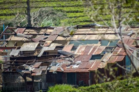 Ratusan Rumah di Pangalengan Rusak Akibat Angin Kencang