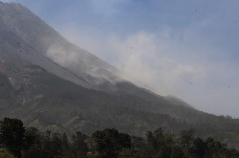 Angin Kencang di Merapi Diduga Dipicu Aktivitas Vulkanik
