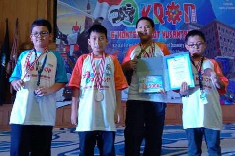 Tim Garuda Muda Juarai Ajang Kontes Robot Nusantara 2019