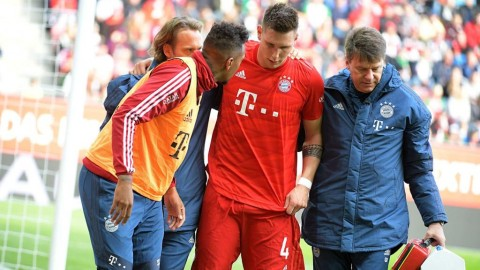 Bayern Muenchen Tanpa Niklas Sule Hingga Akhir Musim