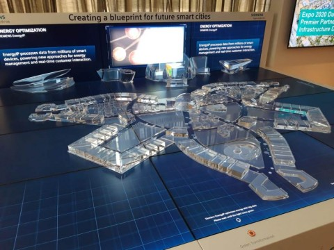 'Kota Pintar' Siemens di Dubai Expo 2020