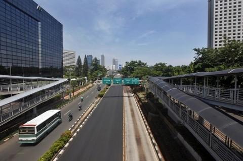 Jakarta Cerah Sepanjang Hari