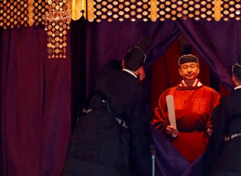 Setengah Juta Grasi Menandai Penobatan Kaisar Naruhito