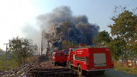 Polisi Akan Selidiki Penyebab Kebakaran Pipa Minyak di Cimahi
