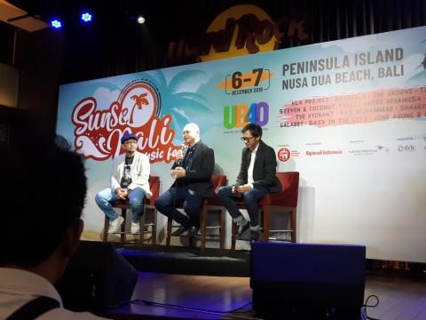 Sunset Bali Music Festival 2019 Ingin Jadi Magnet bagi Wisatawan