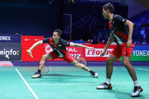 French Open 2019: Fajar/Rian Kalah Telak dari Pasangan Denmark