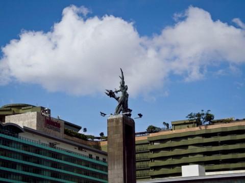 Langit Jakarta Cerah Jelang Pengumuman Kabinet