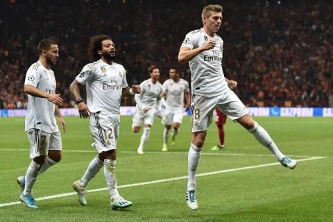 Real Madrid Kesulitan Tundukkan Galatasaray