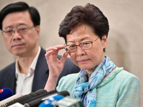 Tiongkok Berencana 'Depak' Carrie Lam dari Hong Kong