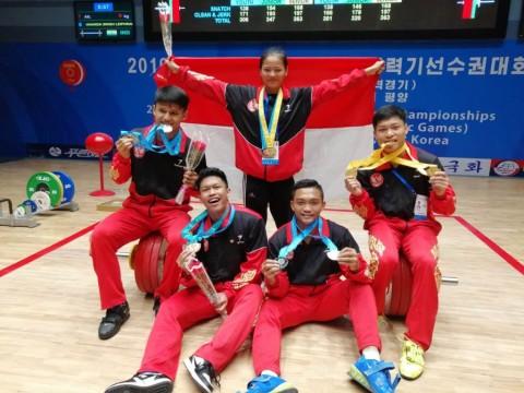 Tim Angkat Besi Indonesia Berjaya di Kejuaraan Asian Youth & Junior 2019