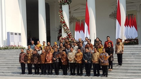 Formation of Jokowi's New Cabinet