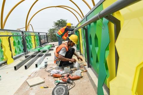 25 JPO di Jakarta Dirancang Lebih Kekinian