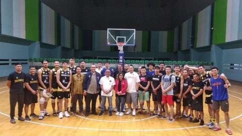 CdM SEA Games Tengok Persiapan Timnas Basket