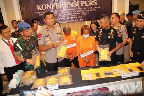 Pengiriman Sabu 12,2 Kg dari Bandung Digagalkan