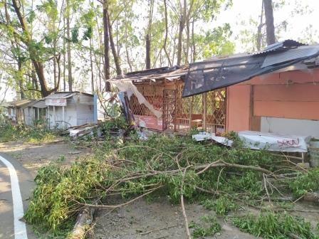Angin Kencang Merusak 515 Rumah di Kota Batu
