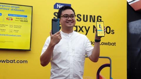Samsung Boyong Galaxy M30s ke Indonesia, Baterai 6.000 mAh