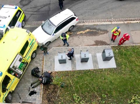 Neo-Nazi Bajak Ambulans, Coba Serang Warga Norwegia