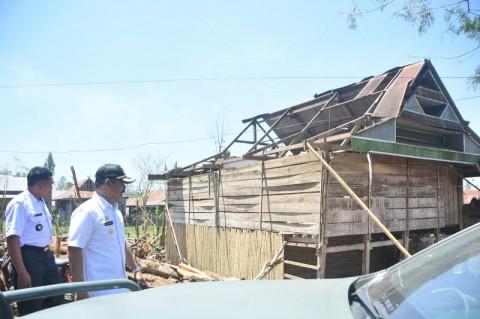 Angin Kencang Rusak 124 Rumah di Gowa