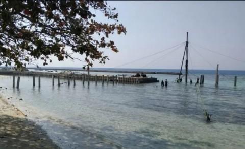 Jembatan Panah Asmara Bakal Membentang di Pulau Tidung