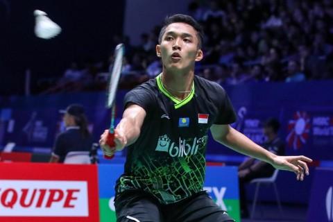 French Open 2019: Jonatan Belum Temui Kesulitan