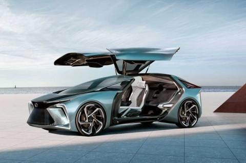 LF-30 Electrified Concept, Mobil Listrik Masa Depan ala Lexus