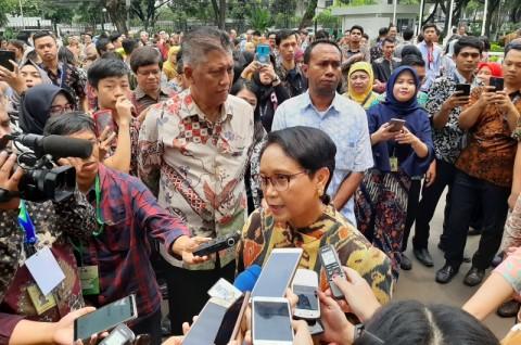 Sosialisasi HAM Indonesia Patut Diutamakan Menlu Retno di PBB