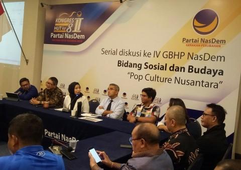 NasDem Dorong Penguatan Industri Kreatif Indonesia