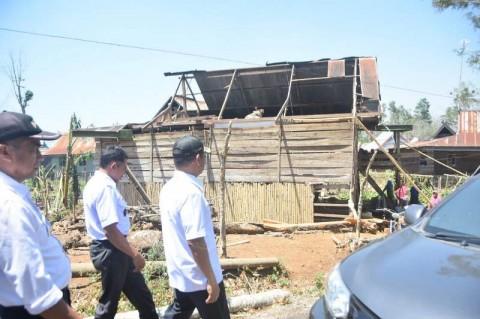 264 Rumah di Gowa Tercatat Rusak Akibat Angin Kencang