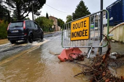 Banjir di Prancis Selatan Tewaskan Tiga Orang