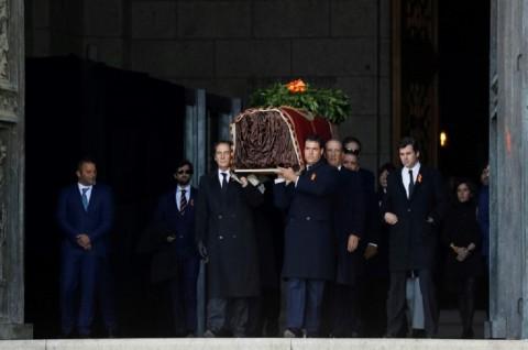 Jenazah Diktator Spanyol Dipindahkan usai Bersemayam 44 Tahun