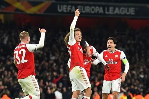 Arsenal Susah Payah Kalahkan Vitoria Guimaraes