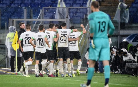 Gol Stindl pada <i>Injury Time</i> Gagalkan Kemenangan Roma
