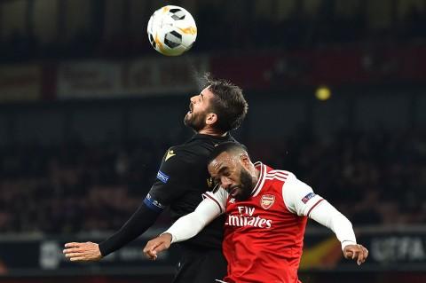 Arsenal Tundukkan Vitoria de Guimaraes 3-2