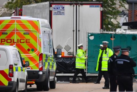 Mayat di Truk Inggris, Korban Tersekap Sebelum Capai Belgia