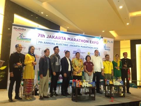 16.500 Pelari akan Ramaikan Electric Jakarta Marathon