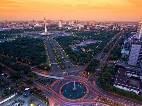 Karnaval Jakarta Langit Biru Kampanyekan Kendaraan Ramah Lingkungan