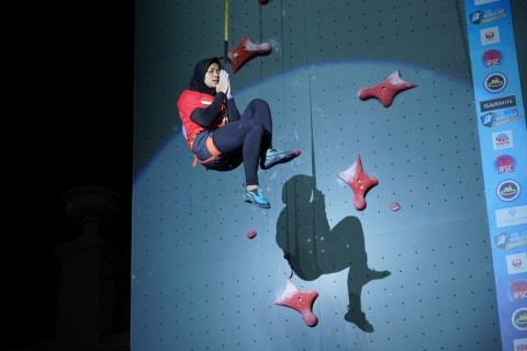 Dua Atlet Panjat Tebing Duduki Peringkat Tiga Dunia Nomor Kecepatan