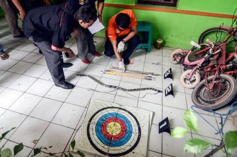 Alat Memanah Disita di Rumah Terduga Teroris Bekasi