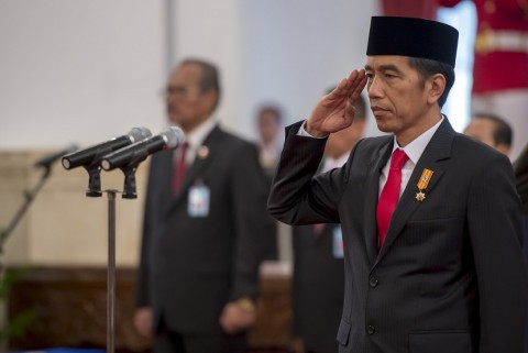 Jokowi Tiba di Sorong