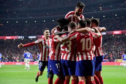 Atletico Madrid Bungkam Bilbao
