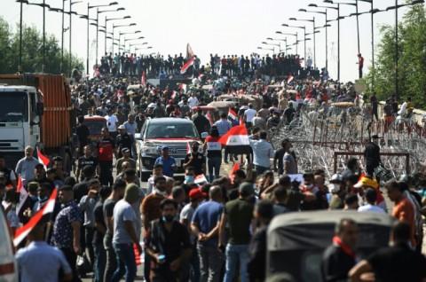 Korban Tewas Bentrokan di Irak Hampir Mencapai 200